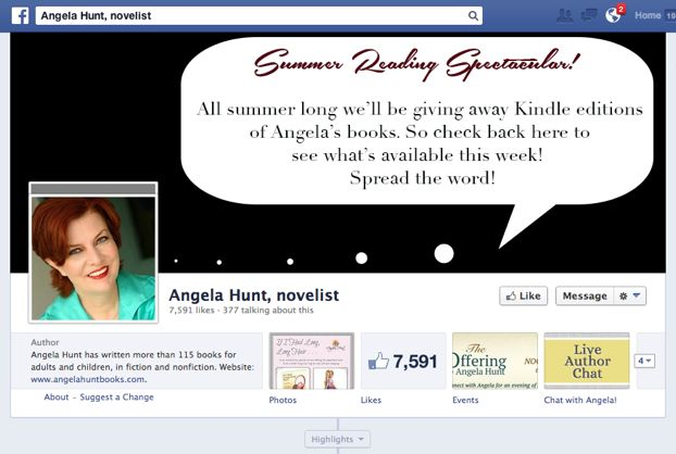 Angela Hunt Facebook
